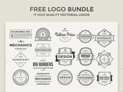 Free Logo Bundle